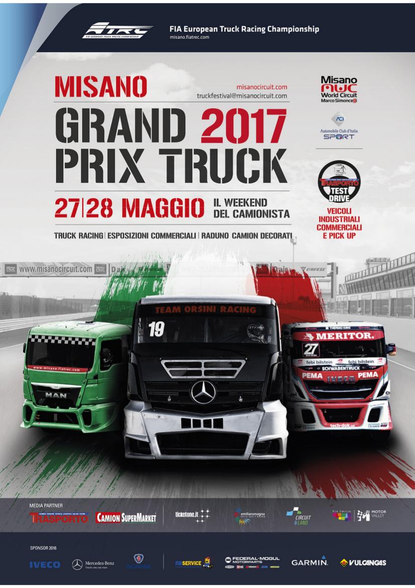 GRAND PRIX TRUCK 2017 / PRATO PRESENTE!