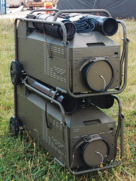 Space heater gac 1000 gac 2000b 1
